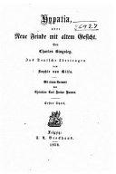 Hypatia  Oder  Neue Feinde Mit Altem Gesicht PDF