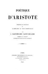 Poétique d'Aristote