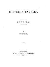 Southern Rambles: Florida