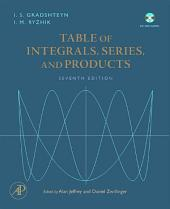 Table of Integrals, Series, and Products: Edition 7