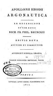 Apollonii Rhodii Argonautica: Volume 1