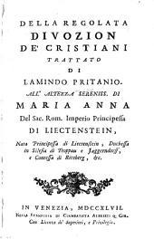 Della regolata divozion de' Cristiani (etc.)