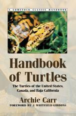 Handbook of Turtles PDF