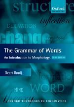 The Grammar of Words