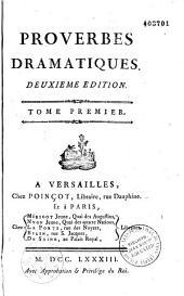 Proverbes dramatiques (par Carmontelle)