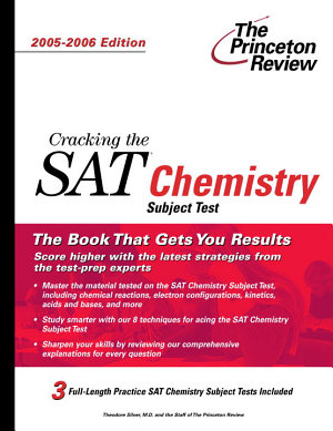 Cracking the SAT Chemistry Subject Test PDF