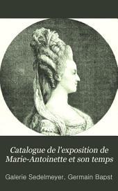 Catalogue de l'exposition de Marie-Antoinette et son temps