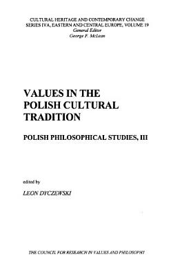 Values in the Polish Cultural Tradition