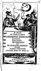 Sermones fideles ethici, politici, oeconomici