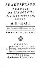 Shakespeare: ¬Le Roi Lear, Hamlet, Prince De Dannemarck, Volume5
