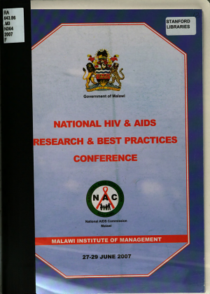 National HIV and AIDS Research and Best Practices Conference