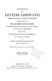 Scelta di lettere edificanti, scritte dalle missioni straniere: Missioni dell' America