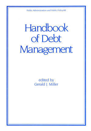 Handbook of Debt Management PDF