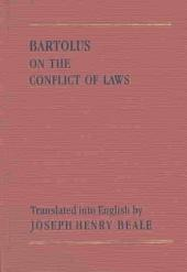 Bartolus on the Conflict of Laws