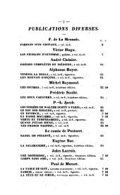Paroles d'un croyant: 1833