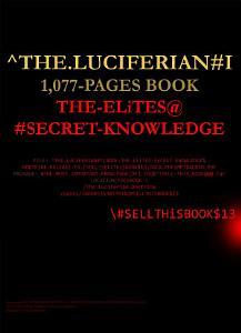 The Luciferian  I  The Elites Secret Knowledge  of Power  Money   Control  1077pgs PDF