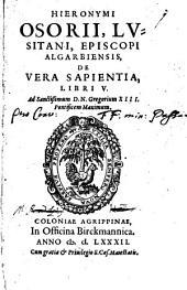 De Vera Sapientia