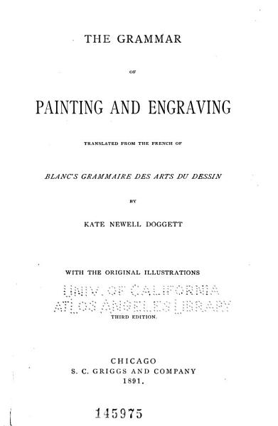 The Grammar of Painting and Engraving PDF