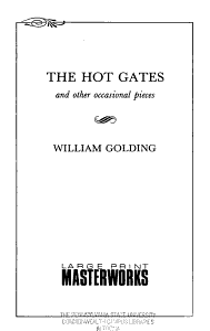 The Hot Gates