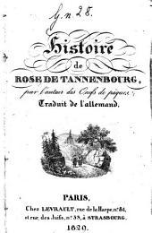Histoire de Rose de Tannenbourg