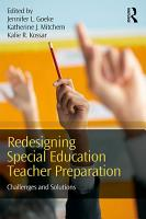 Redesigning Special Education Teacher Preparation PDF