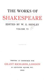 The Works of Shakespeare: Part 23