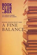 Bookclub in A Box Discusses a Fine Balance