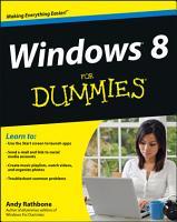 Windows 8 For Dummies PDF