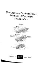 American Psychiatric Press Textbook of Psychiatry PDF