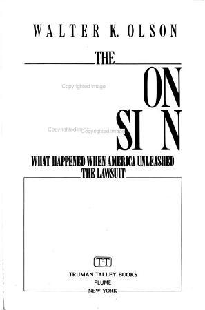 The Litigation Explosion PDF