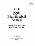 The 1990 Elias Baseball Analyst PDF