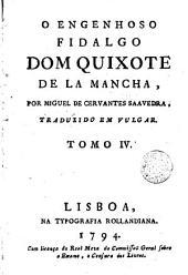 O Engenhoso fidalgo dom Quixote de la Mancha,4