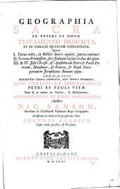 Geographia sacra: ex Vetere et Novo Testamento desumpta