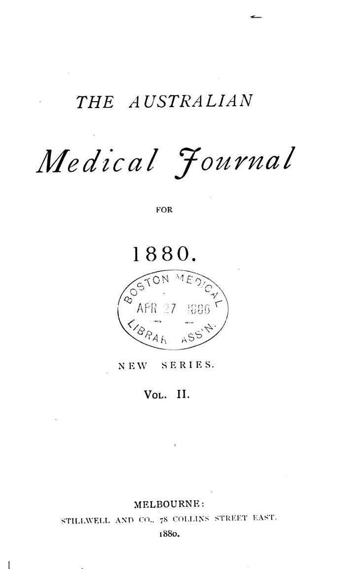 The Australian Medical Journal