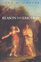 Reason and Emotion PDF