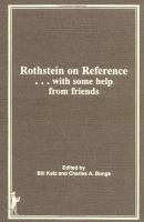 Rothstein on Reference  with Some Help from Friends PDF