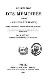 Table générale et analytique des mémoires relatifs à l'histoire de France