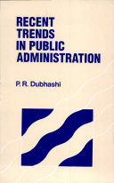Recent Trends in Public Administration