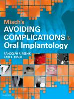 Misch s Avoiding Complications in Oral Implantology   E Book PDF