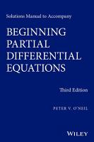 Solutions Manual to Accompany Beginning Partial Differential Equations PDF
