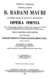 Patrologiae cursus completus, sive biblioteca universalis, integra, uniformis, commoda, oeconomica, omnium SS. Patrum, doctorum scriptorumque ecclesiasticorum ...