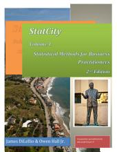Statcity, Volume 1: Statistical Methods for Business Practitioners