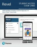 Revel for Public Speaking PDF