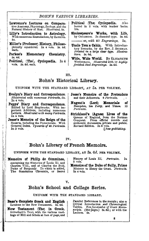 Appendix to the Bibliographer's Manual of English Literature