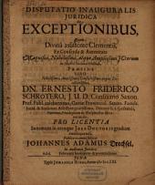 Disp. de exceptionibus