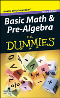 Basic Math and Pre Algebra For Dummies PDF