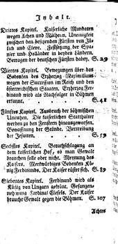 Neuere Geschichte der Deutschen: Von Mathias bis auf Ferdinand II. : Vom Jahr 1612 bis 1620. 7