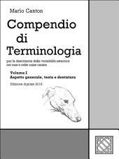 Compendio di Terminologia -: Volume 1