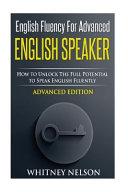 English Fluency for Advanced English Speaker PDF