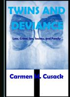 Twins and Deviance PDF